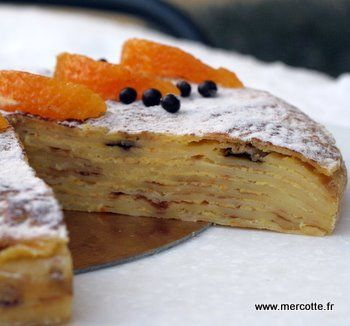 Gateau de pain simple