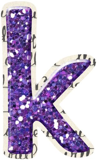 The Letter S In Purple Glitter | www.imgkid.com - The ...