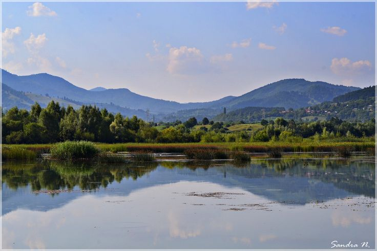 #summer in #piatraneamt #priNeamt #romania #reflection