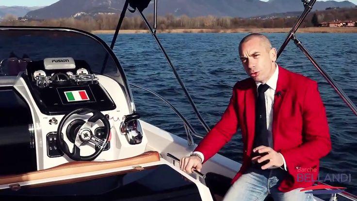 Ranieri Shadow 26 Barca Usata Lago [ Prova in acqua ]