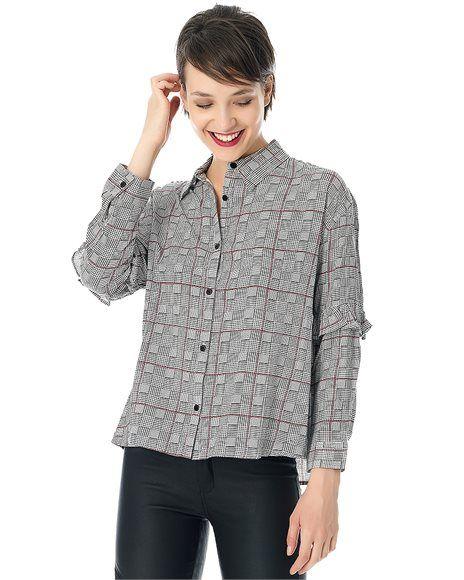 Καρό πουκάμισο. #newarrivals #newcollection #winter #fashion #ootd #fashion #style