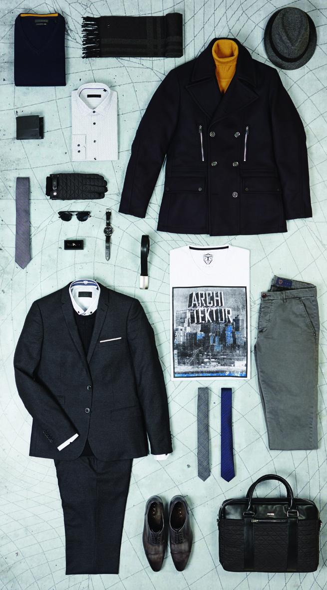 Lookbook IZAC Paris http://www.izac.fr/fr/pret-a-porter-homme/architektur.html #packshot #outfit #inspirationmode