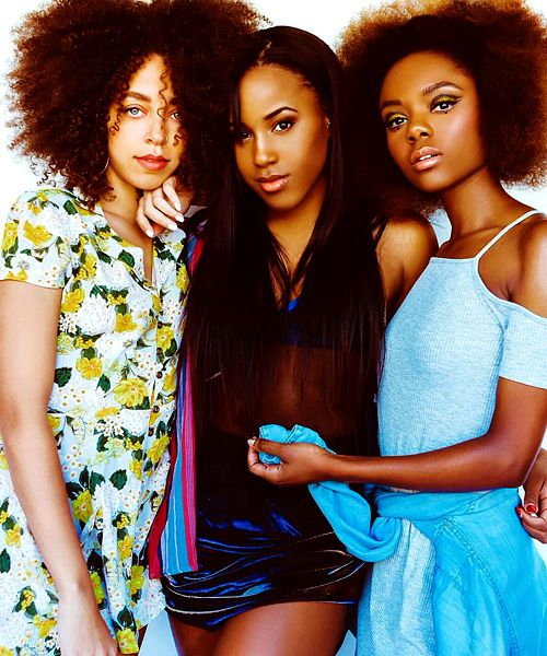 "riverdalesource: ""Ashleigh Murray, Asha Bromfield and Irie Hayleau photographed by Mantida Photo """
