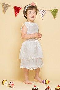 Rochie fetita cu volane