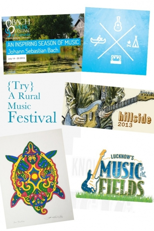 {Try} A Rural Music Festival... in Ontario this summer!