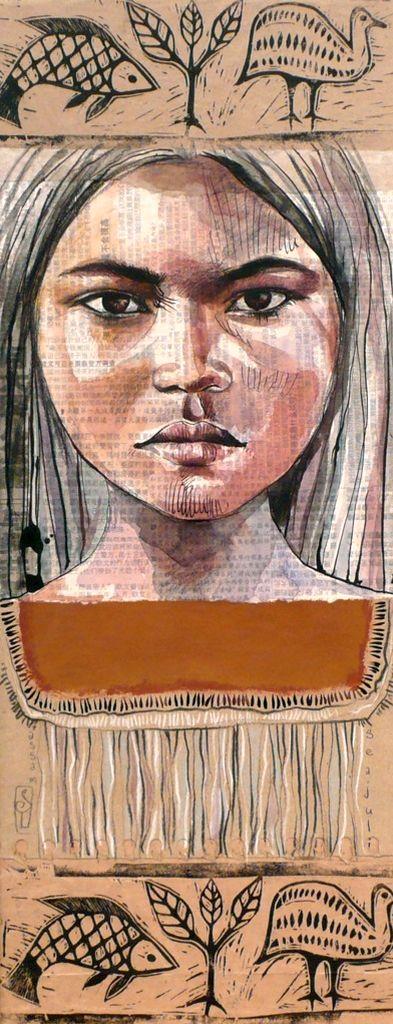 Stéphanie Ledoux - Carnets de voyage:  Assam (Indie)