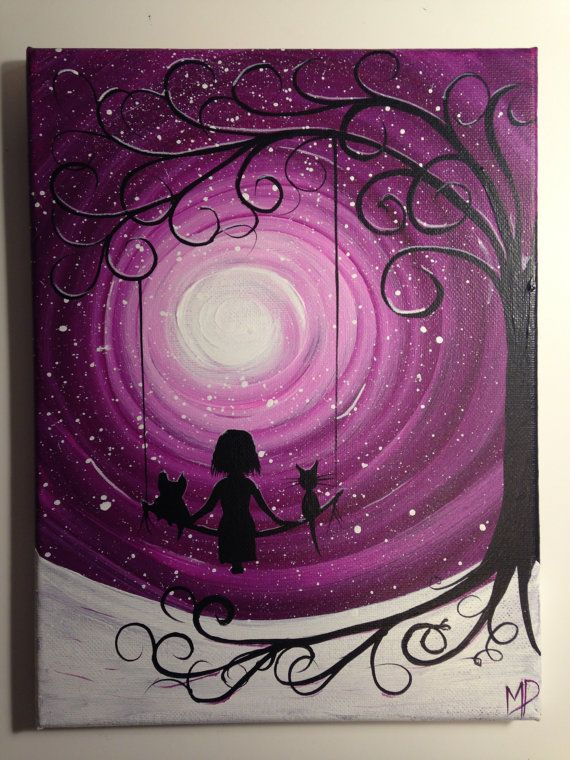 I wish I may - 9 x 12 acrylic on canvas panel, ready to hang, by Michael H. Prosper on Etsy, $30.00