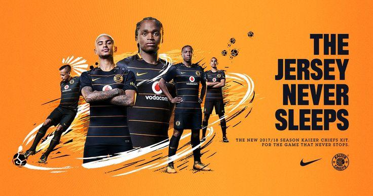 Camisas do Kaizer Chiefs 2017-2018 Nike