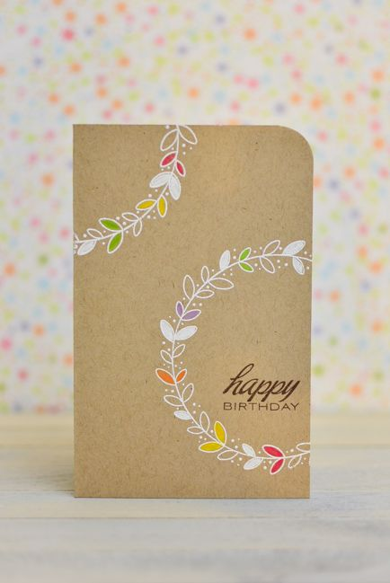 Can't get enough of this girl! by May Park for CASE Study #172: Happy Birthday Card
