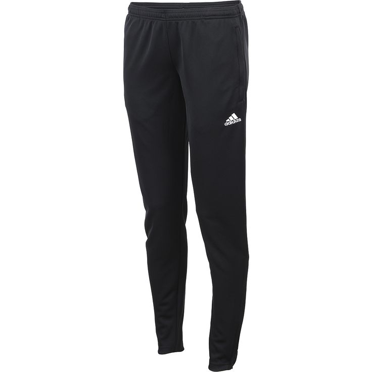Hit the field with confidence in the adidas® women's Core 15 training soccer pants. The lightweight Climalite® fabric is designed to move with you toward the goal and wick moisture away as you break a sweat.