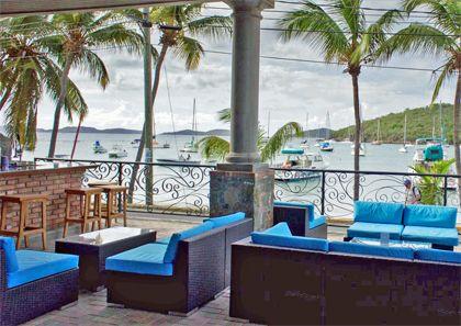 View from Motu Bar, St. John, USVI.