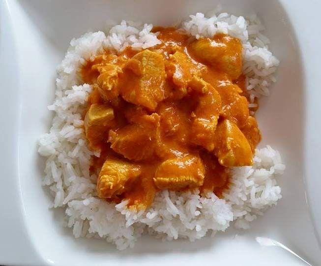 Rezept Tandoori-Masala Hähnchen von Thermifee - Rezept der Kategorie Hauptgerichte mit Fleisch