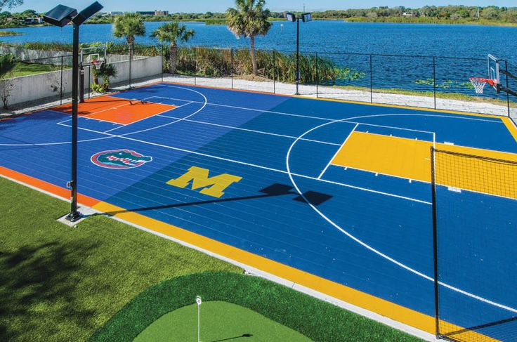 17 best images about killer basketball courts on pinterest for Sport court ideas