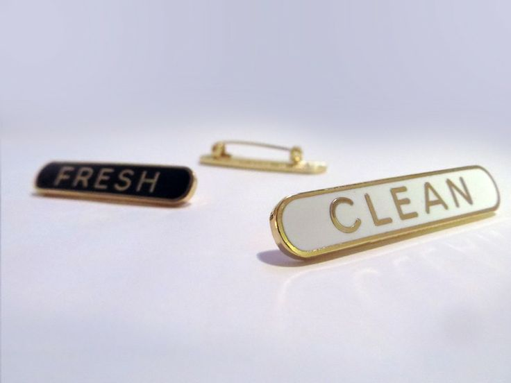 Fresh and Clean via Schools Out Badges - Lyrical lapels. Click on the image to see more!