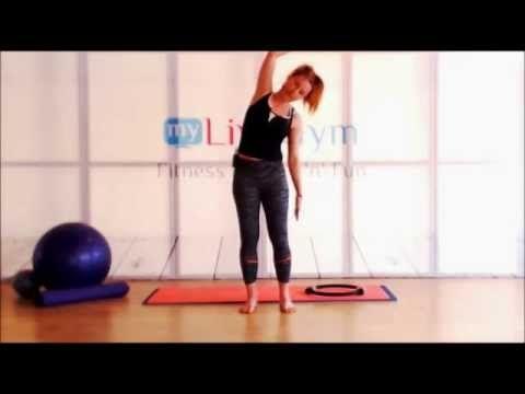 Ασκήσεις pilates στο σπίτι! Κάνε πιλάτες με ή χωρίς εξοπλισμό εύκολα στο σπίτι! - YouTube