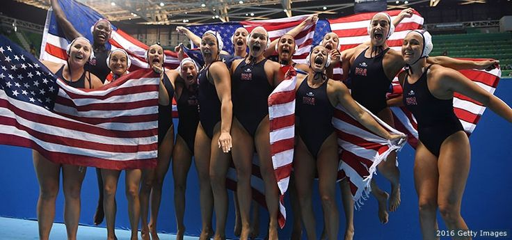 Spurred By A Coach's Hardship, U.S. Women's Water Polo Team Earns Second Olympic Gold.