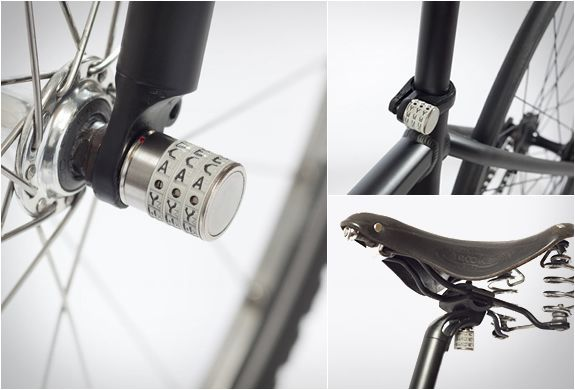 SPHYKE C3N | BIKE COMPONENTS SECURITY SYSTEM | Image