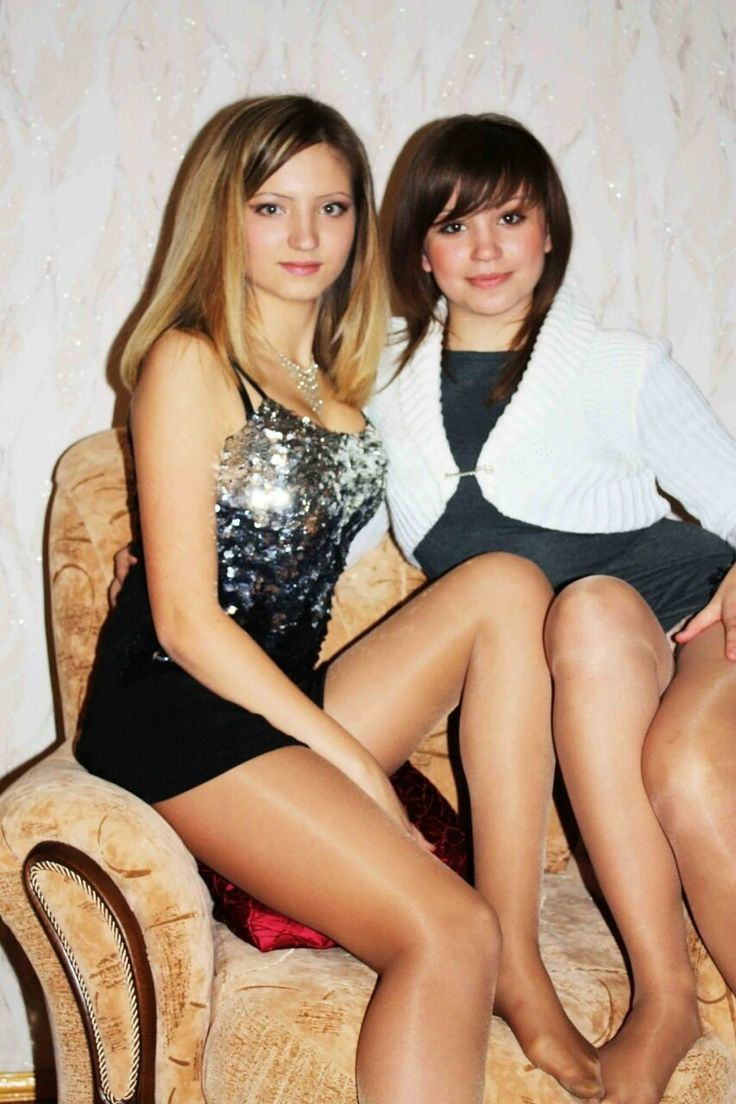 young amateur girls in pantyhose