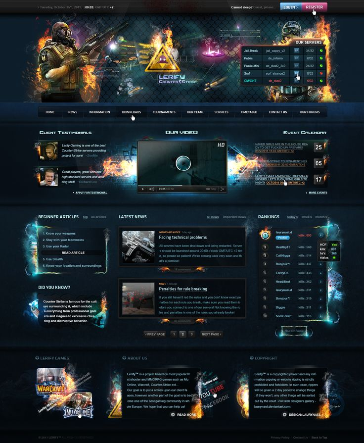 Lerify Counter-Strike - FOR SALE by LaurenceDesign.deviantart.com on @deviantART