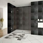 """Found it at AllModern - Ultra-E 72"""" x 49"""" Hinged Glass Shower Doors with Side Panel"""