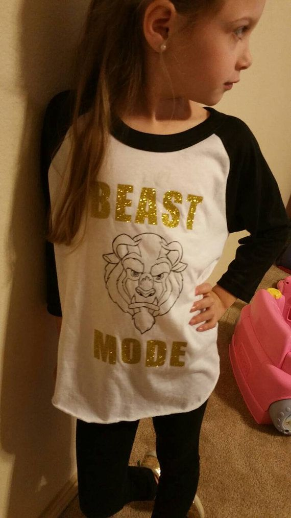 Beast Mode Shirt  Beauty And The Beast  Beast by MadieAndQuinn