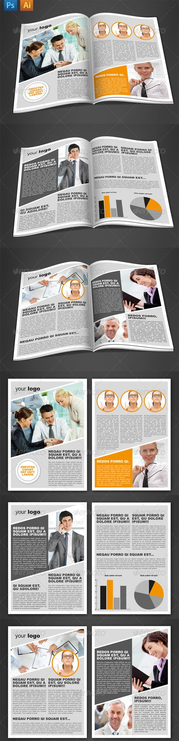 6 Pages Newsletter
