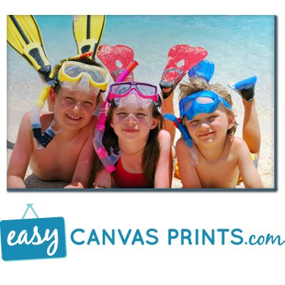 60% off all canvases at Easy Canvas Prints through December 2nd!
