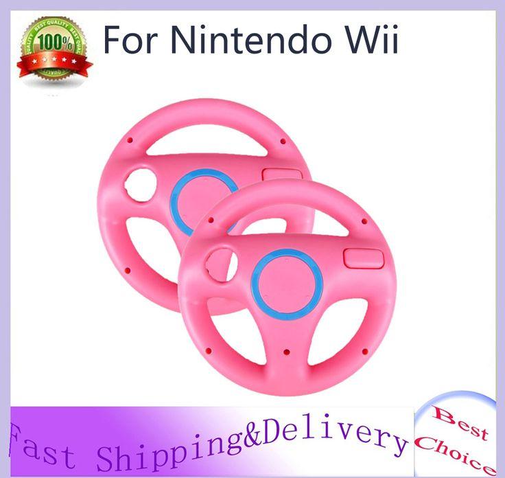 $8.49 (Buy here: https://alitems.com/g/1e8d114494ebda23ff8b16525dc3e8/?i=5&ulp=https%3A%2F%2Fwww.aliexpress.com%2Fitem%2FGeneric-2-x-pcs-Pink-Steering-Mario-Kart-Racing-Wheel-for-Nintendo-Wii-Remote-Game%2F32233415797.html ) Generic 2 x pcs Pink Steering Mario Kart Racing Wheel for Nintendo Wii Remote Game Hot Sale Wholesale for just $8.49