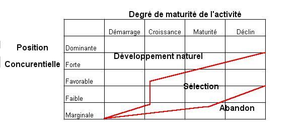 matrice adl (ARTHUR DOO LITTLE) ~ marketing space