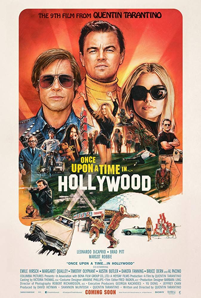 Once Upon A Time In Hollywood 2019 A Groovy Movie Review