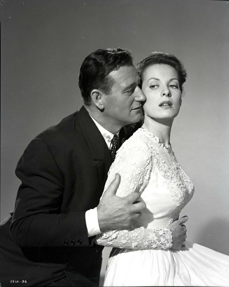 """The Quiet Man"" 1952 John Wayne and Maureen O'Hara"
