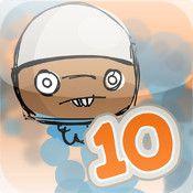 Tiokompisar - Spela spel och lär dig vilka talpar vars summa blir tio | Pappas Appar