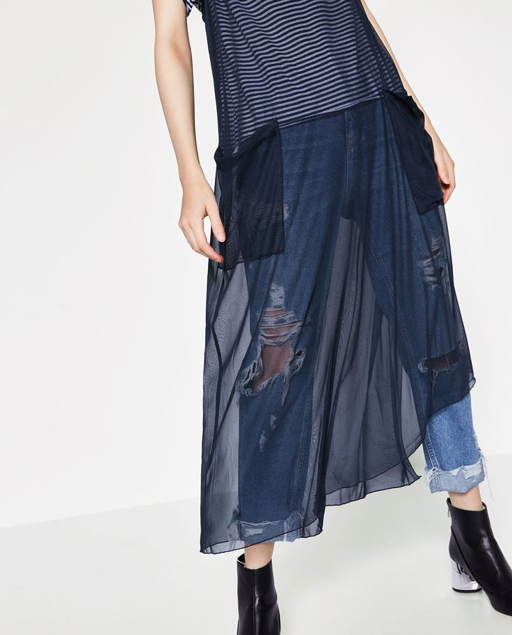 ZARA - WOMAN - TULLE DRESS WITH POCKETS