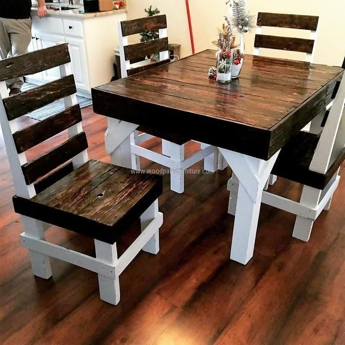 Creative Home Furnishing with Recycled Pallets. Wooden Pallet  FurnitureWooden ...