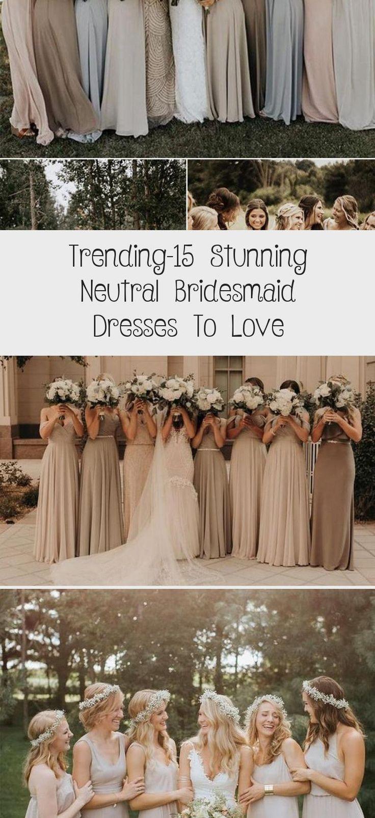 neutral champagne bridesmaid dresses #obde #weddingideas2019 #WhiteBridesmaidDresses #BridesmaidDressesColors #ElegantBridesmaidDresses #IvoryBridesmaidDresses #BridesmaidDressesMuslim