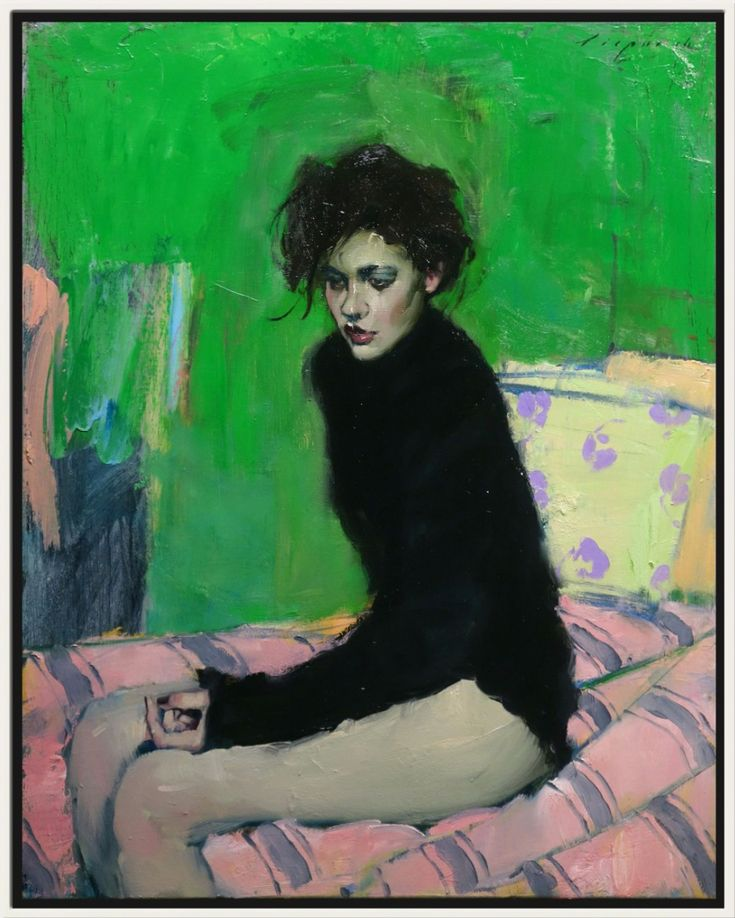 The Green Room, 2016 by Malcolm Liepke