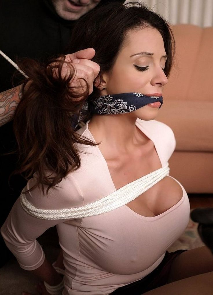 Bondage and taped mouth first time but 4