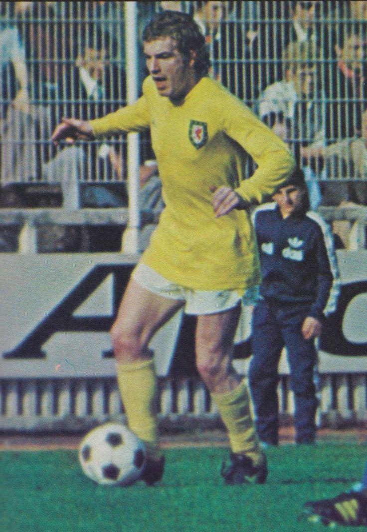 John Mahoney Stoke City & Wales 1974