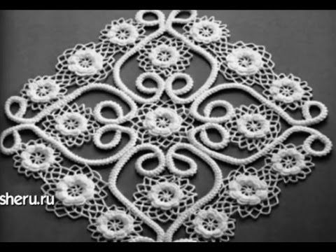 Knitted lace cords and Romanian point lace