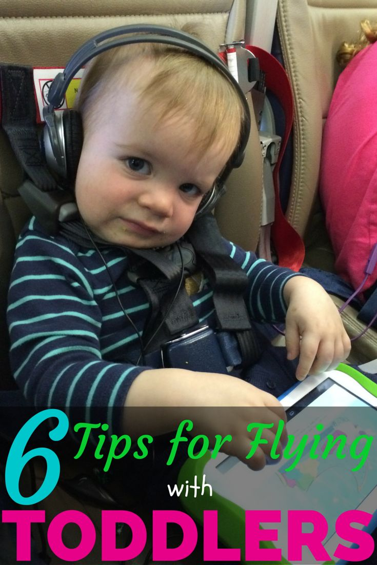 6 Tips for Flying with Toddlers: Planning to travel with toddlers on your next flight? Get insider tips from a traveling mom who has been on more than 100 flights with her young kids!