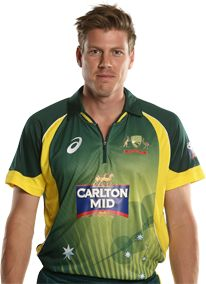 James Faulkner       Role: All-rounder    Bats: RHB    Bowls: LM    Date of Birth: 29 Apr 1990    James Faulkner's star rose with some memorable ODI performances in the 2013-14 season.