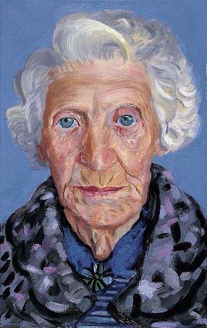 David Hockney (British, 1937) - Mum, 1988-89