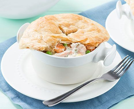 Now that it's the fall season, there's nothing like baking a pot pie and inhaling the wonderful aromas.