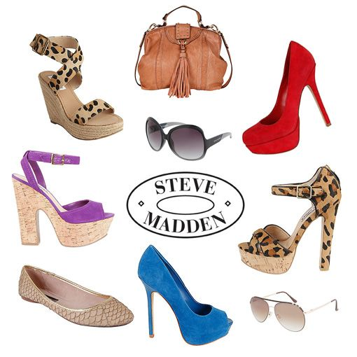 Steve Madden...huge Madden Girl fan + love those boots!