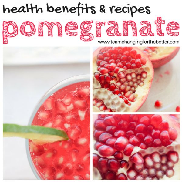 ... benefits of pomegranates and a refreshing pomegranate spritzer recipe