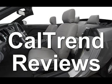 (14) CalTrend seat cover Reviews - YouTube