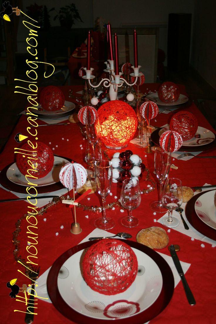 Table nouvelle an 2011 (thème boule)