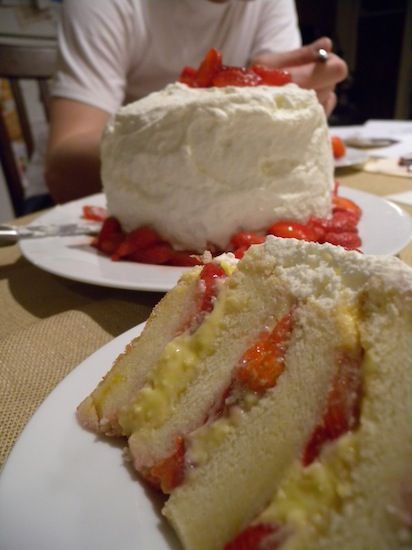 Cassata Cake: this is the version you can only get in Cleveland.
