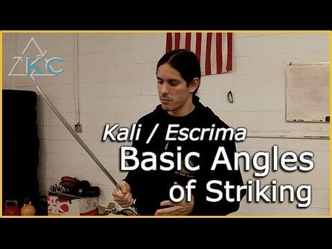 Basic KALI ESKRIMA Solo Drills - Filipino martial arts