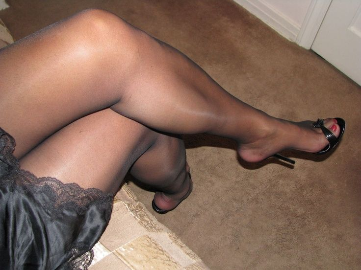 Kind see my toenails pantyhose one the